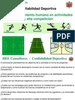 Confiabilidad Deportiva Curso en El Club HEE Consultores