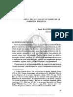 ARTÍCULO 2. LA NOVELA GRIEGA, PROYECCIÓN DE UN GÉNERO EN LA NARRATIVA ESPAÑOLA, ANA L. BAQUERO ES