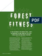 Outdoor Fitness feature on Wild Forest Gym