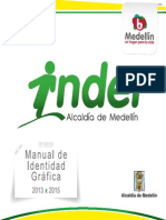 Manual de Identidad Grafica Inder 2013 - 2015