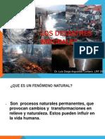 Los Desastres Naturales 2013