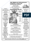 Parish Bulletin for November 10, 2013