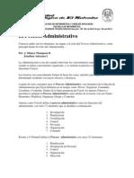 1-El Proceso Administrativo