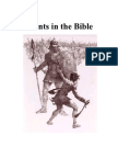 Giants in the Bible