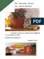 model evaluare initiala pentru planificare gr. mijlocie.doc