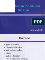 Education in the UK and the USA.ppt