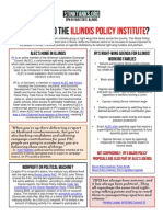 IL - Who Is Behind The Illinois Policy Institute