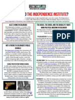 CO - Who Is The Independence Institute