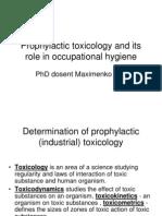 Toxicology Theory