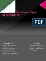 Semana 12 Principios Eticos y La Toma de Decisiones