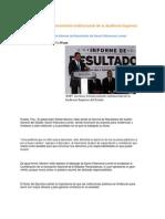 06-11-2013 Puebla Noticias - RMV Reconoce Fortalecimiento Institucional de La Auditoria Superior Del Estado