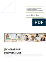 • • • Who Knows Much About Scholarships? Who Wants