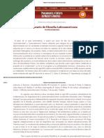 Latinoamericana-Posmodernidad