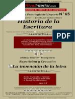 Historia Escritura
