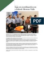06-11-2013 Puebla on Line - Puebla trabaja en coordinación con el gobierno federal, Moreno Valle