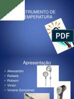 Instrumento de Temperatura- Pronto