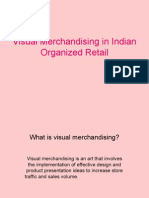 Visual Merchandising in Indian Organized Retail