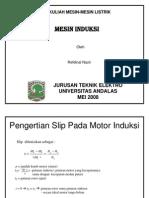 Kuliah Mesin Induksi ke-3.ppt