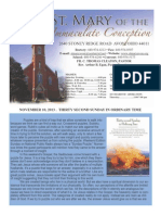 St Mary Avon Bulletin