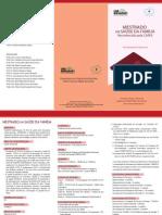 Folder Mestrado 2013