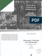 dimensões culturais da globalização - appadurai (1)