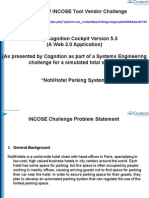 Systems Engineering Example Using Cognition Cockpit