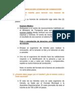 ABC de Las Licencias de Conduccion- 21-06-2013
