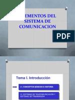 Elementos Sistema de Comunicacion