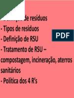 Gestão RSU