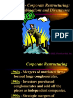 Corporate Restructuring:Combinations and Divestitures.ppt