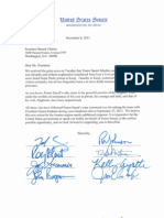 Bipartisan Letter to President Obama Urging Strong U.S. Action to Liberate Pastor Abedini