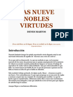 Las Nueve Nobles Virtudes - Dennes Martos