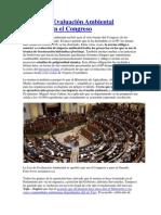 La Ley de Evaluación Ambiental aprobada en el Congreso