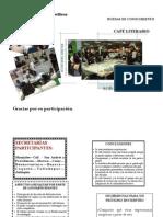 EVALUACIÓN RUEDAS DE CONOCIMIENTO-CAFÉ LITERARIO