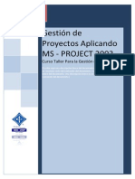 Manual de Ms Project 2003