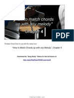 Match chords with melody