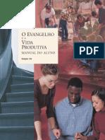 O Evangelho e a Vida Produtiva