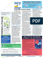 Pharmacy Daily for Fri 08 Nov 2013 - $40k profit crunch alert, $5m Blackmores campaign, New vaccine tool, Events calendar and much more