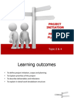 Topic2&4-Project Initiation & Planning