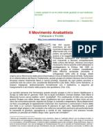 Il Movimento Anabattista - Calunnie e Verità