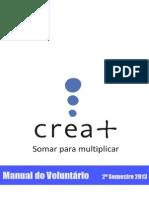 2013 2o Semestre - Manual do Voluntario Crea .pdf