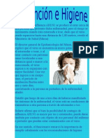 prevencion e higiene