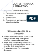 Planeacion Estrategica Del Marketing Clase Introd