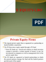 Private Equity Lbo