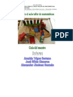 ACTIVIDADES PARA EL AULA TALLER DE MATEMÁTICAS GUÍA PARA EL MAESTRO