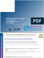 McDonalds en internet - 2006