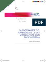 LA ENSEÑANZA Y EL APRENDIZAJE DE LAS MATEMÁTICAS CON ENCICLOMEDIA