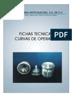 Fichas Tecnicas y Curvas de Operación