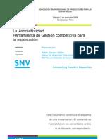 Asociatividad Para La Competitividad