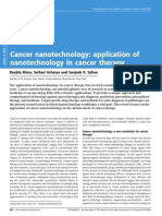 Cancer Nanotechnology- Application of Nanotechnology in Cancer Therapy (1)